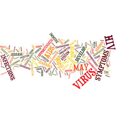 The cause of aids text background word cloud vector
