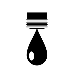 Isolated water drop design vector
