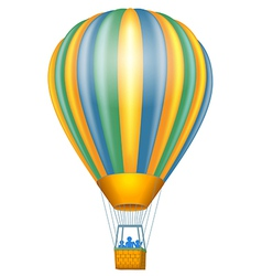 Air baloon vector