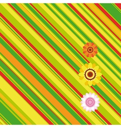 Easter stripe background vector image