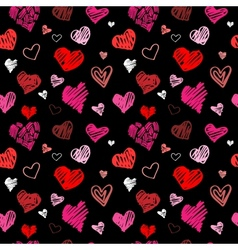 Love pattern background vector