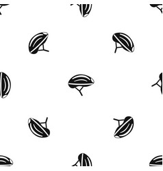 bicycle helmet pattern seamless black vector image vector image