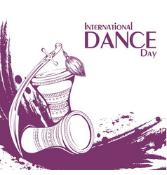 dance day tribal belly dance accessories vector image vector image