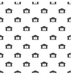 Garage pattern vector