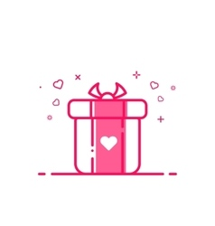 icon valentines day vector image vector image