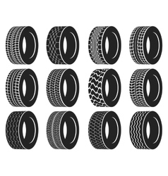 Tire or wheel for truck bus automobile tyre vector