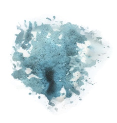 abstract blue watercolor background vector image