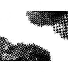 halftone surprise vector image