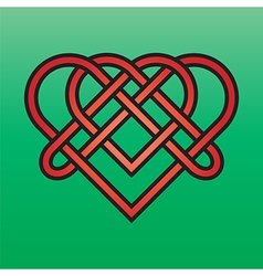 Celtic endless knot vector