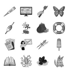 Education fishing antiquity and other web icon vector