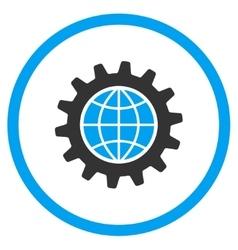 Global Options Icon vector image