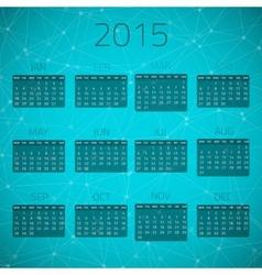 Gloss connection calendar 2015 background vector