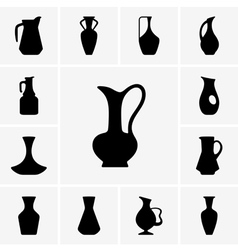 Jugs vector image vector image
