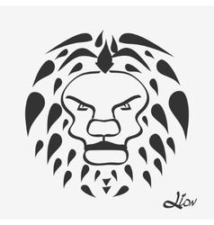 Lion head - vector image