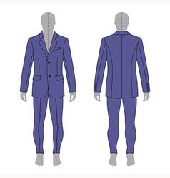 Man grey silhouette figure vector