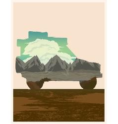 Road trip vector