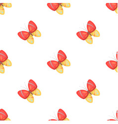 Spring butterfly easter single icon in cartoon vector