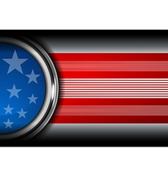 usa flag color backgrounds vector image vector image