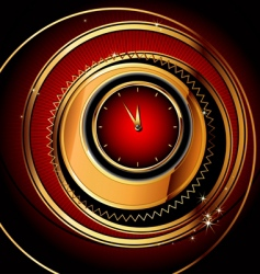 Clocks background vector