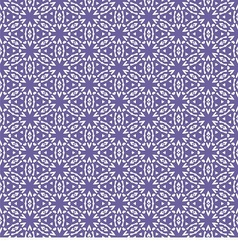 Seamless with violet snowflakes vector