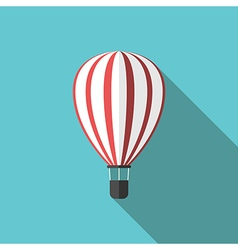 Beautiful hot air balloon vector