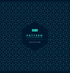 abstract pattern square octagon and circle light vector image vector image