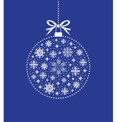 blue ball balls background vector image vector image