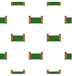 Home fence pattern seamless vector