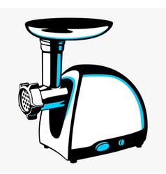 Meat grinder vector image vector image