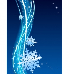 blizzard vector image