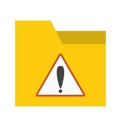 Warning on folder vector
