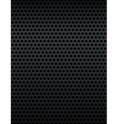 Metal grid grate background vector
