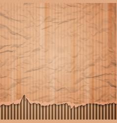 Cardboard texture background vector