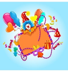 Celebration colored background vector image vector image