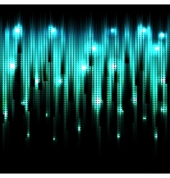 Abstract glowing disco background vector