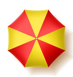 Beach umbrella vector image