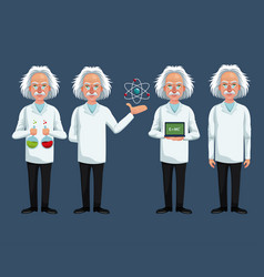 Group character scientist physical science vector