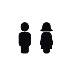 Isolated lady icon mister element can be vector