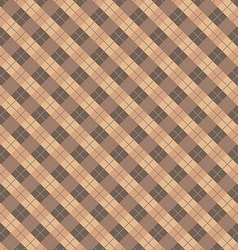 Plaid tiles seamless pattern background vector image