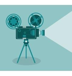 Video camera movie film cinema icon vector
