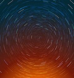 Abstract composition of the stars path vector image