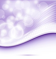 Abstract wavy purple background for design vector image vector image