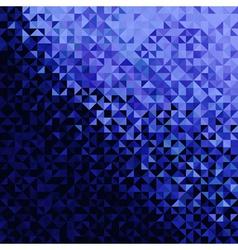 Blue Black Disco Background vector image vector image
