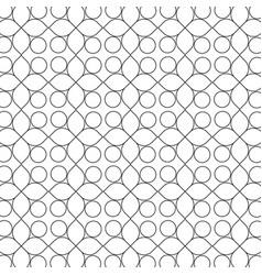 circles pattern vector image vector image