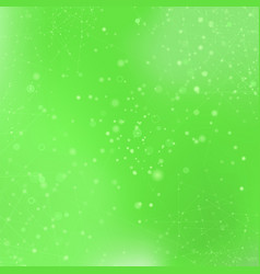 Green technology background with particle vector
