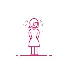 Icon valentines day concept vector