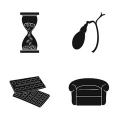 Industry medicine art and other web icon in vector