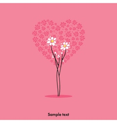 Lovely card vector