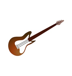 Icon guitar vector