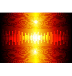 Dark red color light abstract technology vector